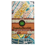 Milk Chocolate with Coffeshops Map