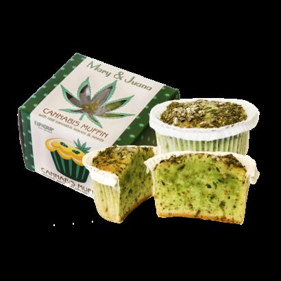 Mary & Juana Cannabis Muffin