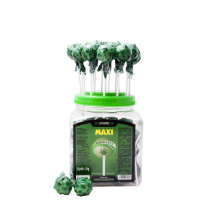 Cannabis Maxi Lollipops Jar