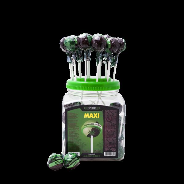Cannabis Cola Maxi Lollipops Jar
