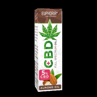 CBD Oil 5% with Almond Oil